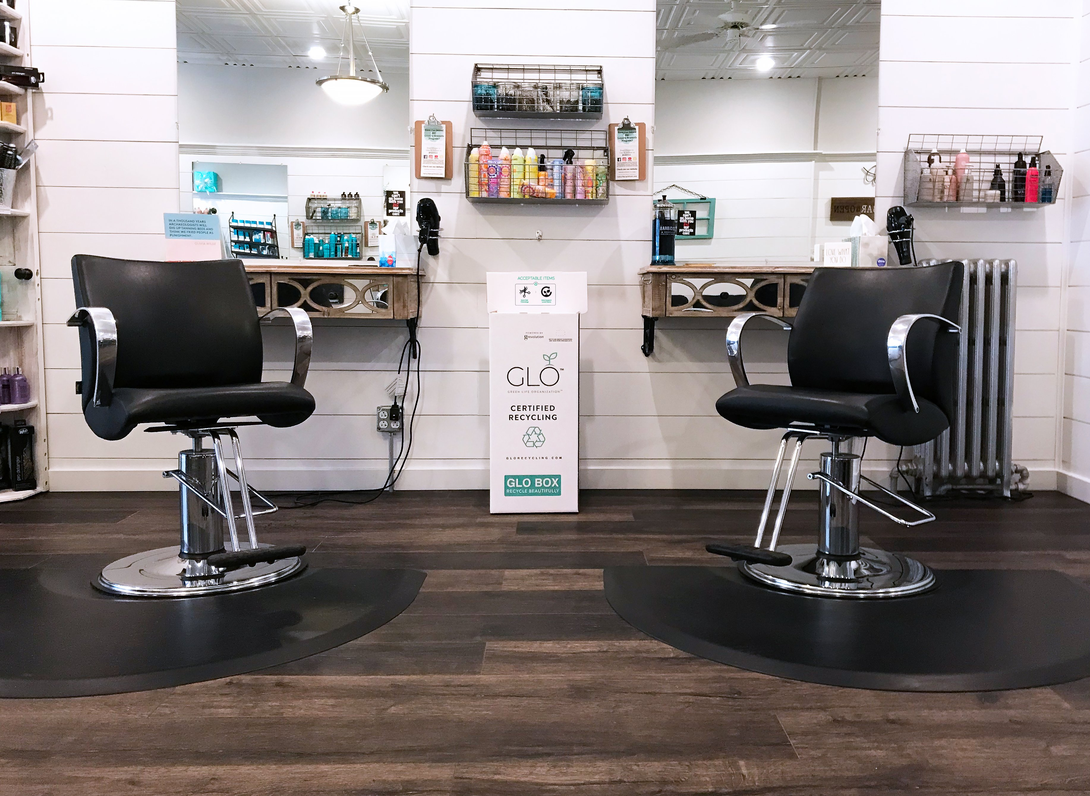 How to Fight Salon Waste Using GLO's Zero-Waste Recycle Program