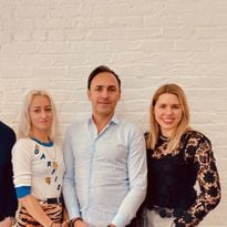 Amika Founding Team (left to right):