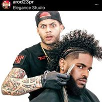 @Arod23pr - the most followed barber on Instagram