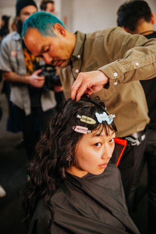 <p>Oribe Director of Training and Content Kien Hoang&nbsp; at work</p>