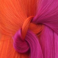 How-To: Pink and Orange Color Split