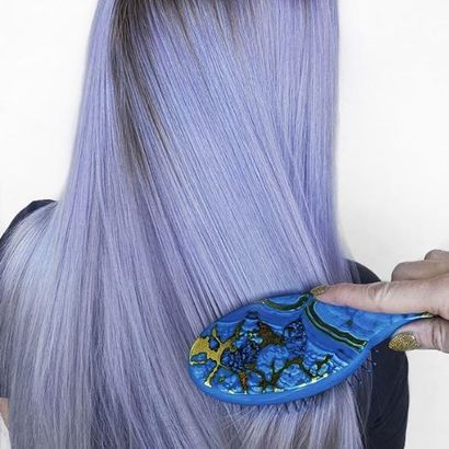 How-To: Icy Lavender