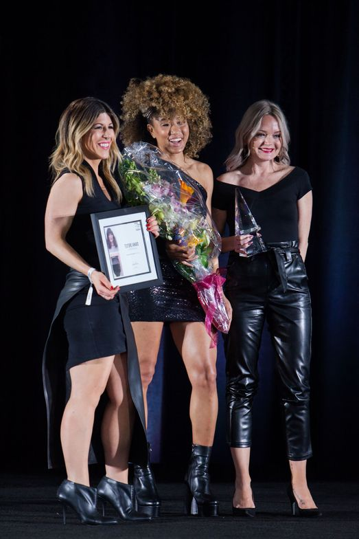 <p>TEXTURE AWARD Winner: SLOANE STEVENS SALON, Homer Glen, IL.&nbsp;</p>