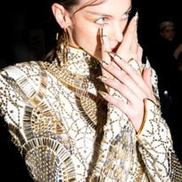 Beauty is a focus at The Blonds, F/W 2020. Hair by Moroccanoil's Kevin Hughes, nails by CND's...