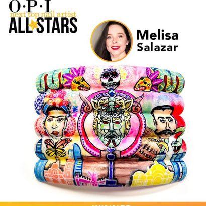 OPI and NAILS Name Next Top Nail Artist All Star