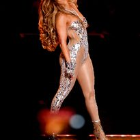 J.Lo during the Super Bowl 2020 half time show. Color by Tracey Cunningham, style by Chris...