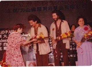 <p>Carlos in China.</p>