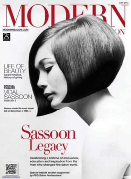 <p>In 2012, MODERN created a tribute issue to honor the life of industry icon, Vidal Sassoon.&nbsp;</p>
