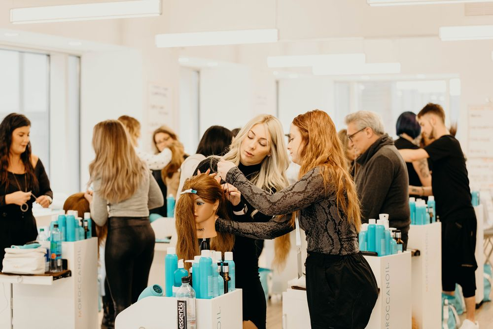<p><strong>Moroccanoil </strong>global educators practice cording techniques used in class, ideal for securing hair into a sleek, no-fuss ponytail that may be transitioned into a stay-put upstyle without the need for a lot of pin and bands.</p>