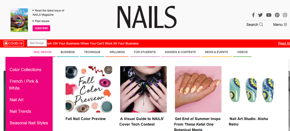 <p>NAILS is the authority on all-things nail-related.&nbsp;</p>