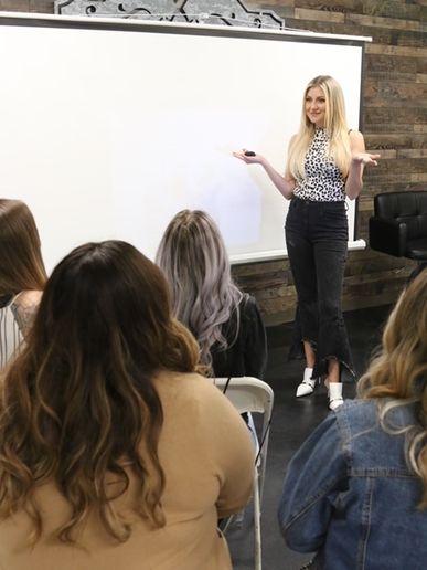 Olivia Smalley - educator  -