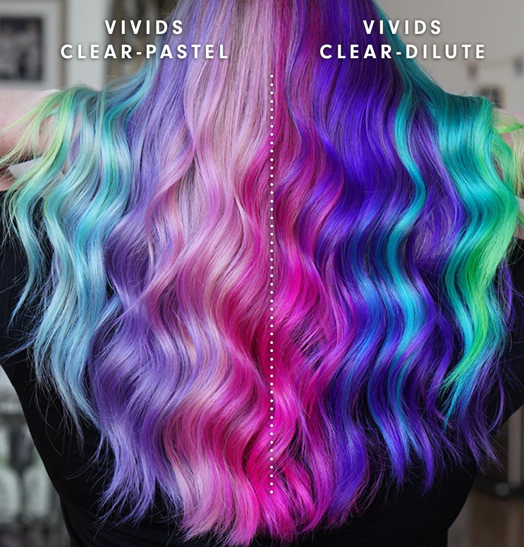 Lighten Tones of Vivids While Keeping them Vibrant