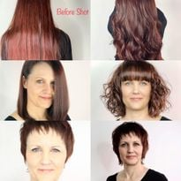 Stylist Gives Wife a New Haircut Each Day Over 5 Days