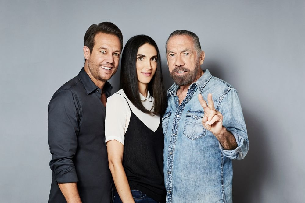 <p>(Left to right) Angus Mitchell, co-owner; Michaeline DeJoria Heydari, vice-chairman; and John Paul DeJoria, chairman and co-founder</p>