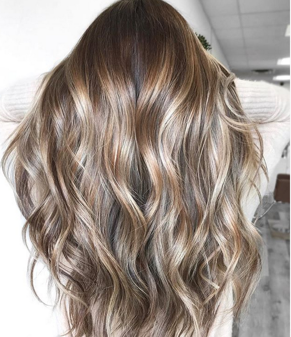 <p><strong>The haircolor that stops thumbs isn&rsquo;t about concealing, it&rsquo;s about enhancing and beautifying existing color with subtle, iridescent undertones and powdery nuances. This cool brunette by Chrissy Danielle, @hairbychrissydanielle was created with: BLONDME Bond Enforcing Premium Lightener 9 + 20-volume (teasy lights and balayage); the new tbh-true beautiful honest 6-06N + 20-volume (root melt); and tbh-true beautiful honest 8-49C + 9-06N + 9-49C + 6-volume IGORA VIBRANCE Activator Lotion 13-volume developer (global gloss)&mdash;all Schwarzkopf Professional.7</strong></p>
