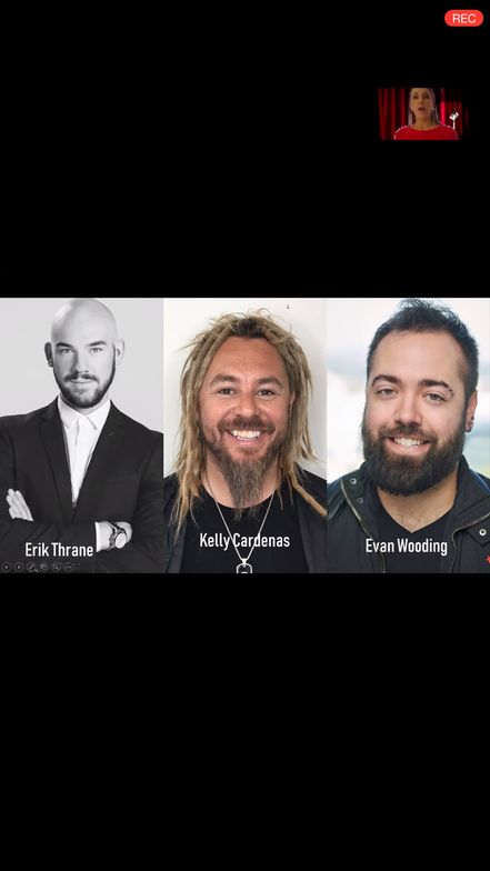 <p><em><strong>The esteemed judging panel for Sport Clips The Look</strong></em></p>