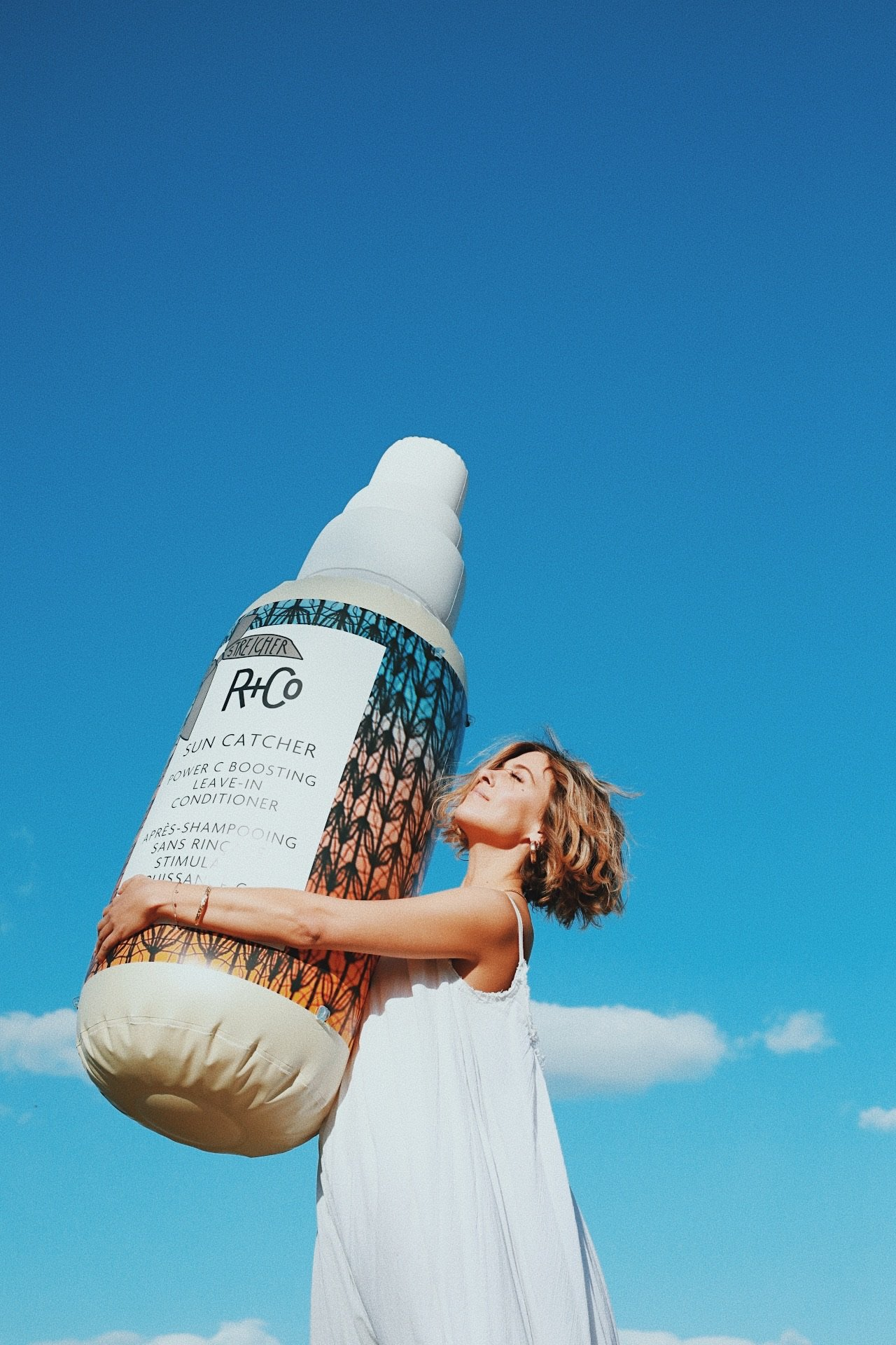 R+Co Launches SUN CATCHERPower C Boosting Leave-In Conditioner
