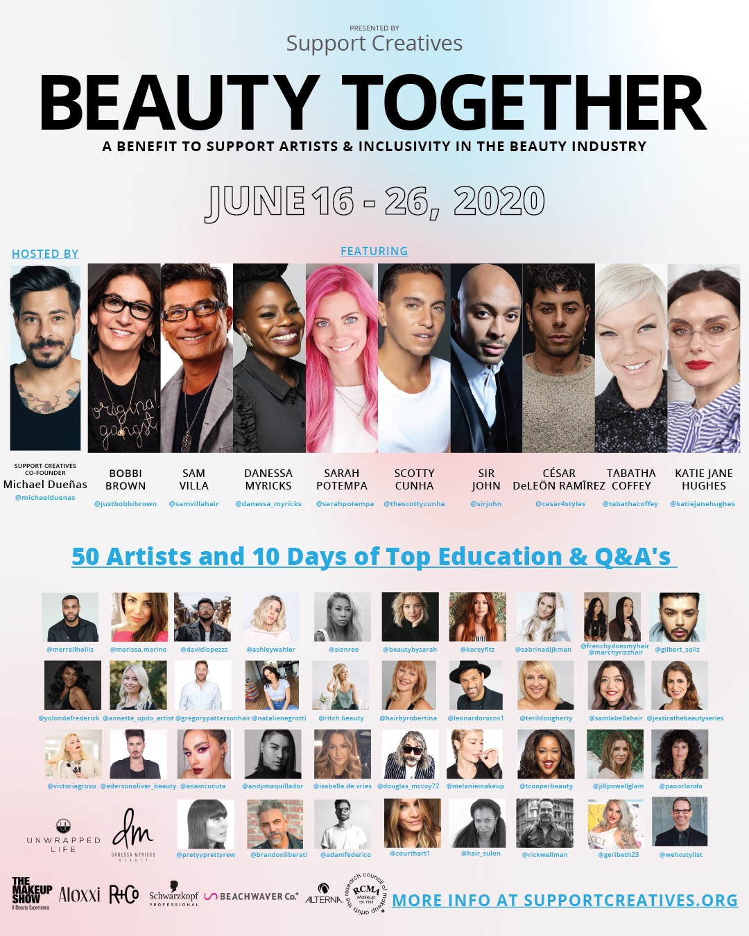 Beauty Together Supports Beauty Professionals with 10-Day Education Fundraiser