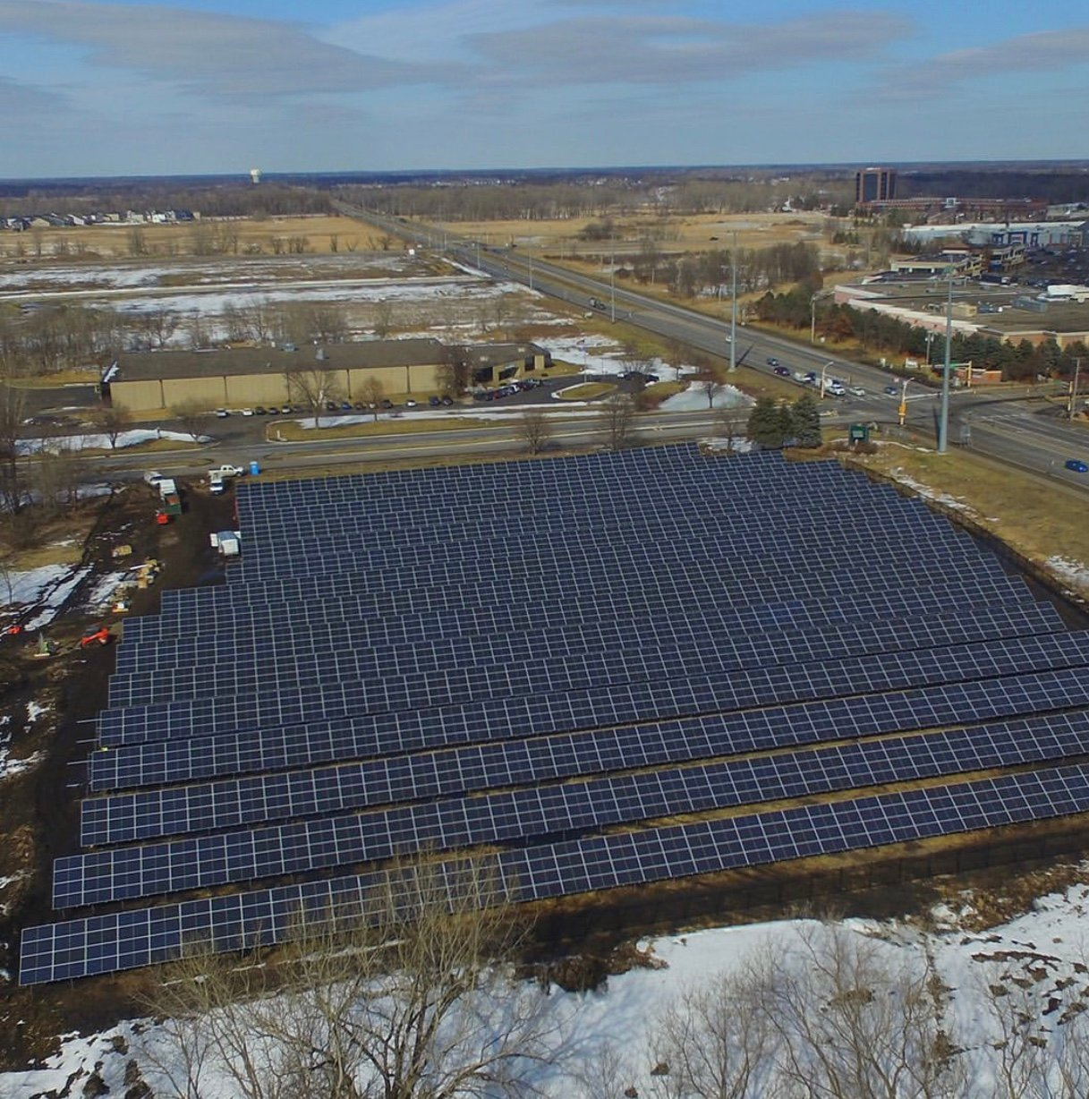 Aveda Activates 3.6 Acre Solar Array at Minnesota Headquarters