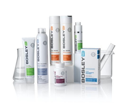 Introducing BosleyMD to Prevent Hair Loss and Combat Thinning