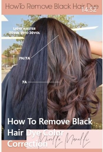 Removing Black Dye: 10 hours, 2 days, and $1000