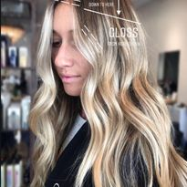 Beautiful blend by @the.blonde.chronicles