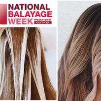 Celebrate National Balayage Week with Matrix: Education, Inspiration and Prizes
