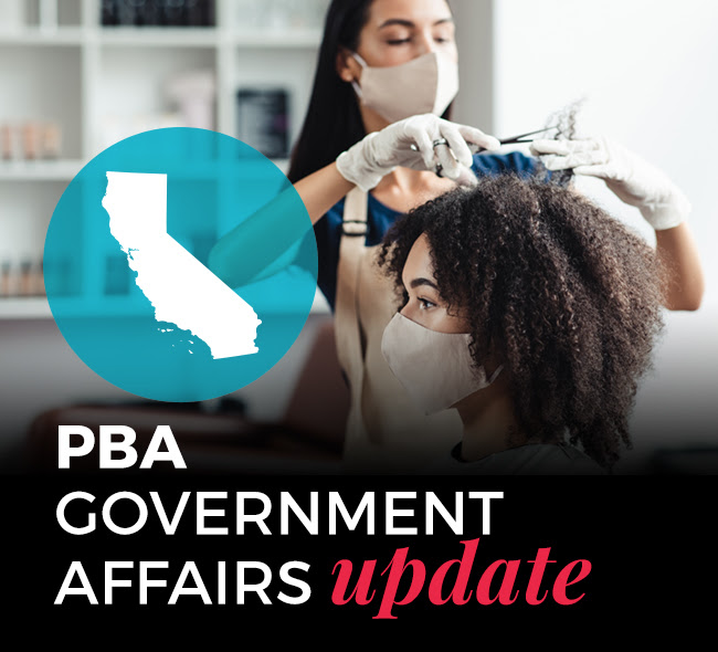 California Salons and Stylists, Let's Talk: PBA Hosts Update on Re-Opening and Q & A