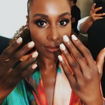 Issa Rae and her lovely manicure