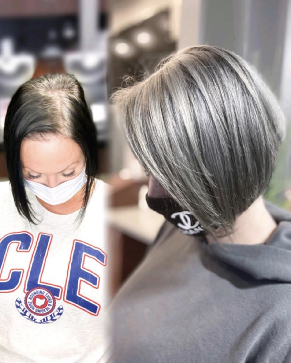 Black Box Color to Natural Silver in 11 Hours