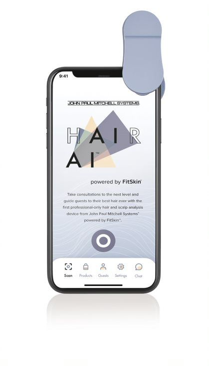 <p><em>Hair AI&trade; uses proprietary technology and advanced artificial intelligence to display magnified images and evaluate the conditions of the scalp and hair strand. </em></p>