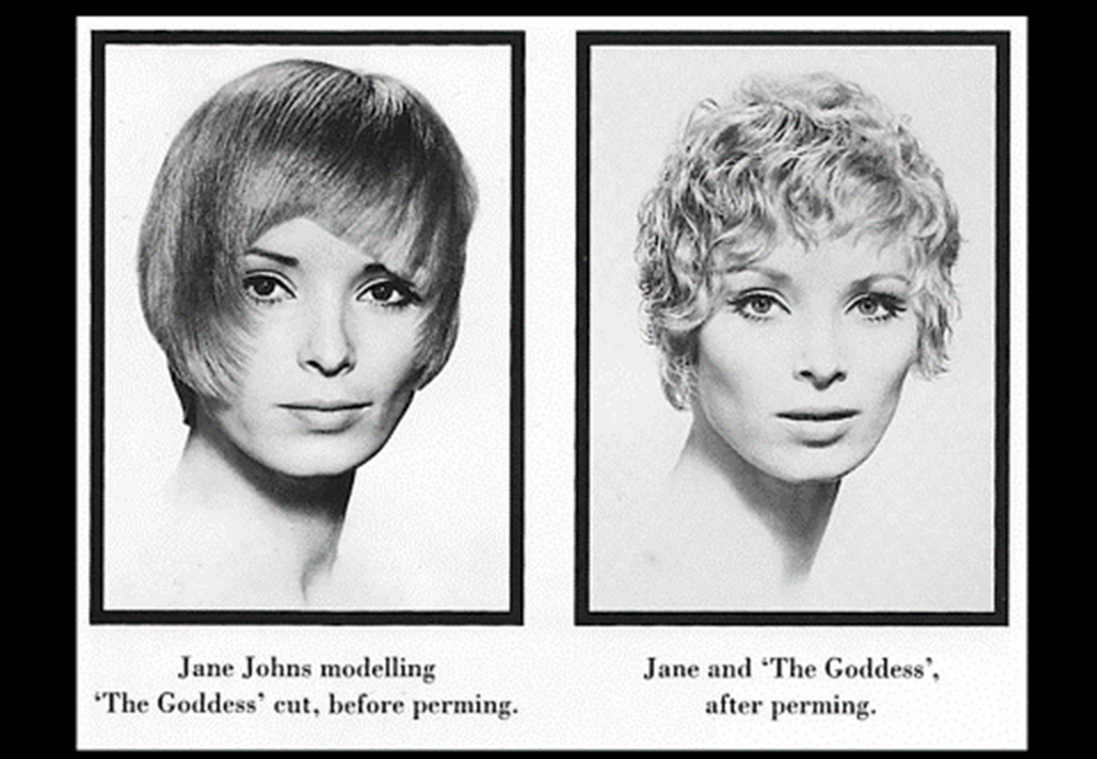 <p><em><strong>REDKEN was introducing a new permanent wave and Paula persuaded Vidal to perm one of his classic cuts. The style was called &ldquo;The Greek Goddess.&rdquo;</strong></em></p>