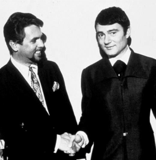 <p><em><strong>Bill and Vidal Sassoon</strong></em></p>
