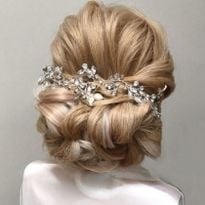Bridal styling by Sara Yousif