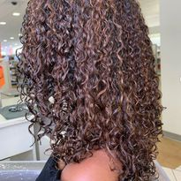 Curlyage: New Color on Curly Hair