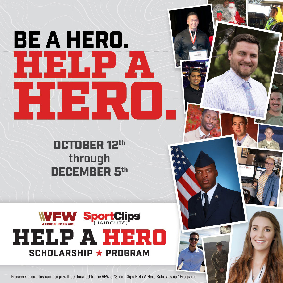 Sport Clips Continues to Support Help a Hero Scholarship Program for Military Veterans