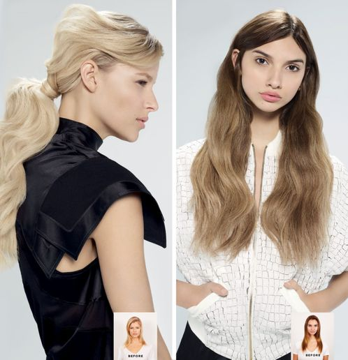 Flaunt Paul Mitchell hair extensions offer total creative freedom for the stylist and instant gratification for the guest.
