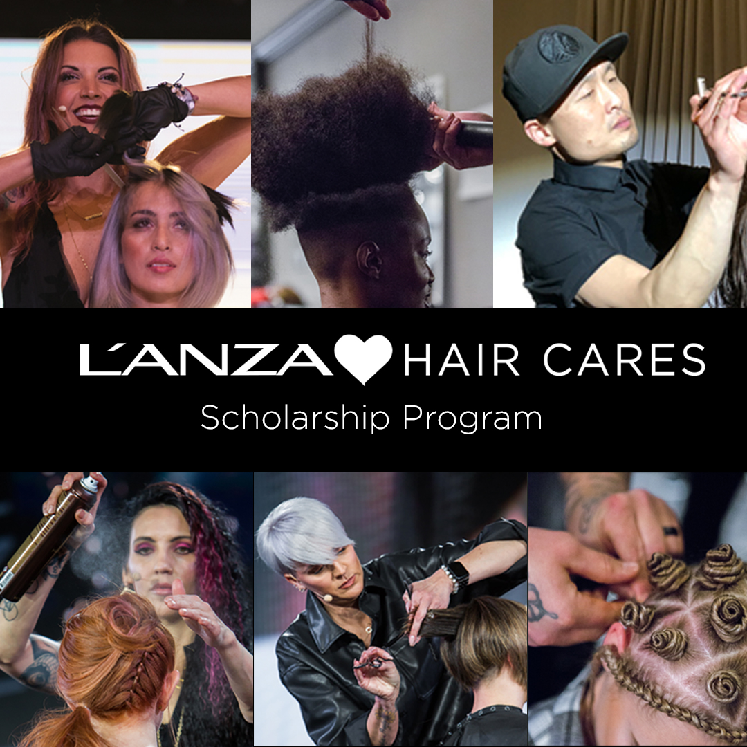L'ANZA Launches Hair Cares Scholarship Program for Aspiring Stylists