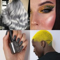 12 Beauty Looks Celebrating Pantone's Colors of the Year, Ultimate Gray & Illuminating