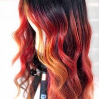 Get the Formula for This Fiery Balayage Transformation