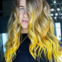 Trending Color: Lemon Drop Hair for Spring