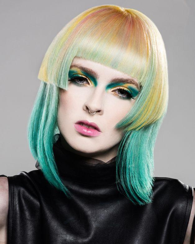 "<p><a href=""https://www.instagram.com/glambeautybycallie/"" target=""_blank"">Callie Cabral</a></p>  <p>Valentini Hair Design, Erin, Ontario</p>  <p>Photographer:&nbsp;Ema Suvajac</p>"