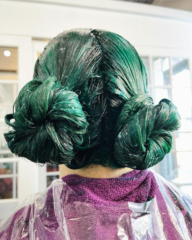 <p><em><strong>Princess Leia processing pic. Swirls of green looks so beautiful, already.</strong></em></p>