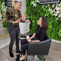 The Orlando Salon's Orlando Rodriguez tested the new Hair AI app – the latest innovation from...