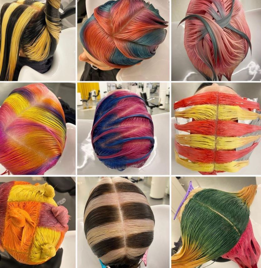 Eye Candy: Hair Color Processing Pics Are Saturated Sweets for the Soul