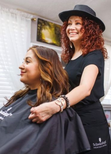 Cruz Martinez, owner of Glory Salon and a Schwarzkopf Professionals Ask Expert  -