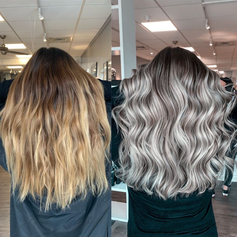 <p>Hair by: &nbsp;Gabby Vigorito</p>