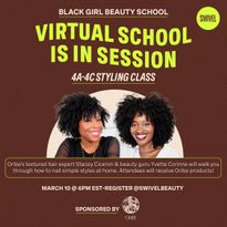 Join Oribe's Virtual 4A-4C Textured Hair Styling Class