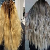 Color Correction: At-Home Bleach to Healthy Blended Blonde