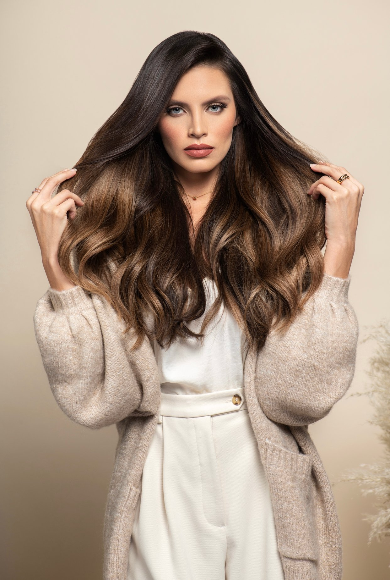Keraflex Extensions from Hotheads: Matte Keratin Bonds for Discreet Strand-By-Strand Application